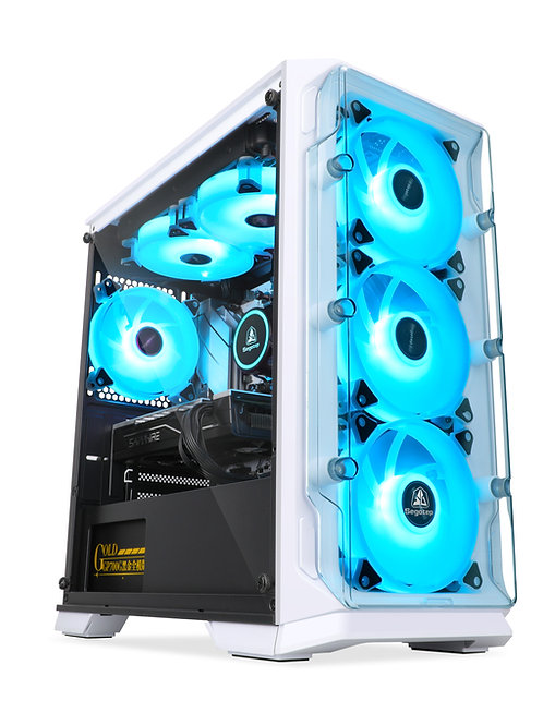 Segotep LUX S White Gaming Case ( Acrylic )
