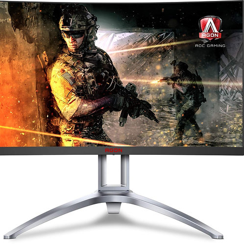 AOC Agon AG273QCX 27inch Curved Gaming monitor