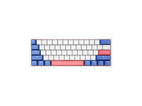 Ducky One 2 Mini Bon Voyage White Led ( Cherry MX Blue-Red-Brown )