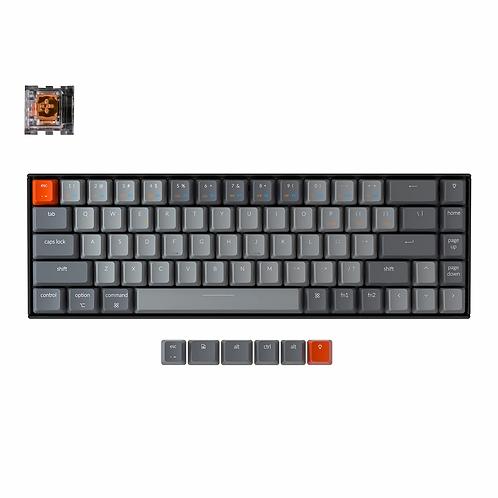 Keychron K6 RGB Wireless LK Optical Switch 68 keys ( Brown )