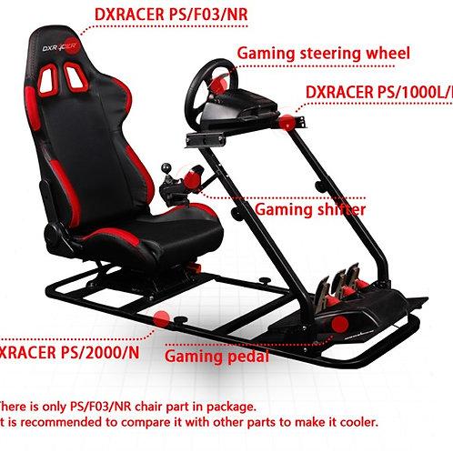 DXRacer Racing simulator PS 1000+PS 2000+PS F03