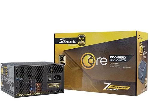 Seasonic Core GX-650W 80+ Gold ( 7 Years Warranty )