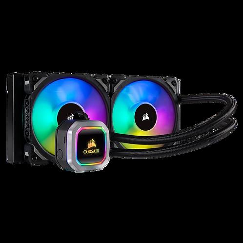 Corsair Hydro Series™ H100i RGB PLATINUM 240mm Liquid CPU Cooler