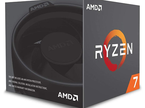 AMD Ryzen 7 2700 Processor with Wraith Spire LED cooler