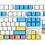 Thumbnail: 108 Keys Chalk Cover PBT keycaps