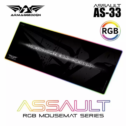 Armageddon Assault AS-33 RGB mousepad