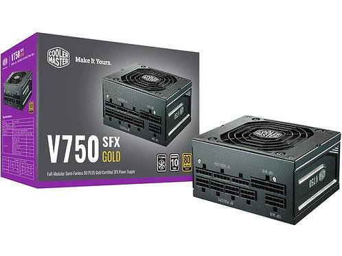 Cooler Master V750 SFX Gold Fully modular 750w Power Supply