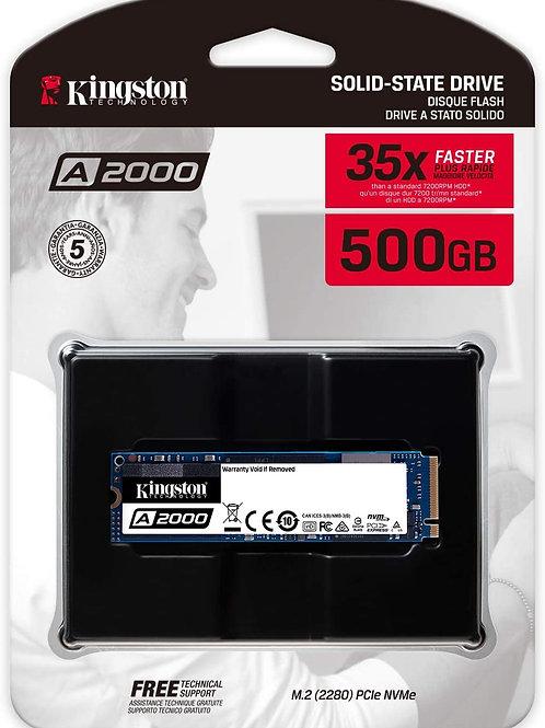 Kingston 500 GB A2000 M.2 2280 Nvme Internal SSD