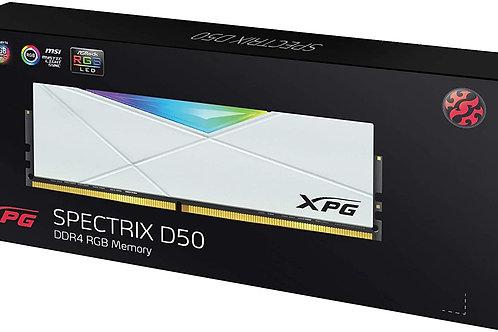 XPG DDR4 D50 RGB 32GB (2x16GB) 3600MHz White