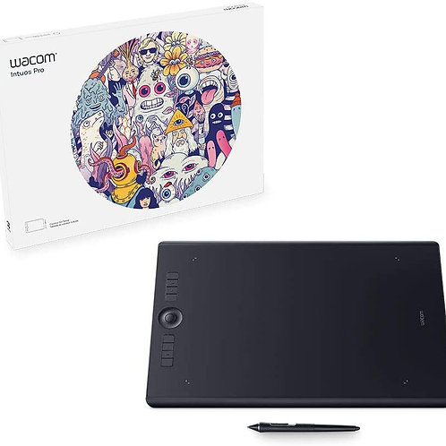 Wacom Intuos Pro Digital Graphic Drawing Tablet for Mac or PC Large