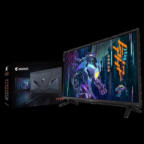 AORUS FV43U QLED 4K 144Hz Gaming Monitor