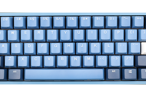 Ducky One 2 mini Good in Blue ( Cherry MX Silver Speed )
