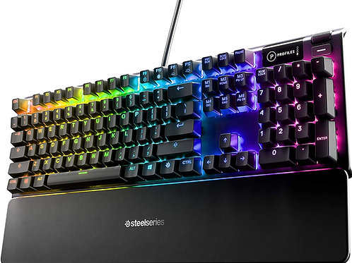 SteelSeries Apex 5 Hybrid Mechanical Gaming Keyboard