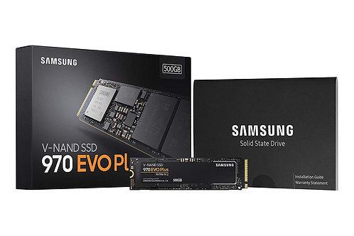 Samsung 970 EVO Plus m.2 NVMe 500GB SSD