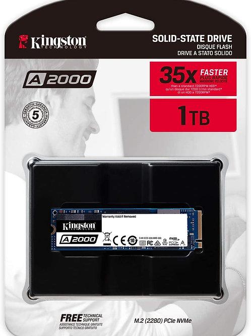 Kingston 1 TB A2000 M.2 2280 Nvme Internal SSD