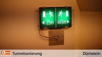 Leyrer + Graf - Tunnelsanierung Dürnstein