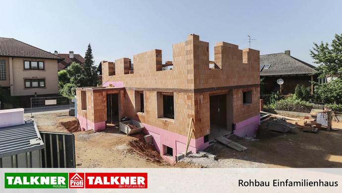 Timelapse Talkner Bau - Einfamilienhaus
