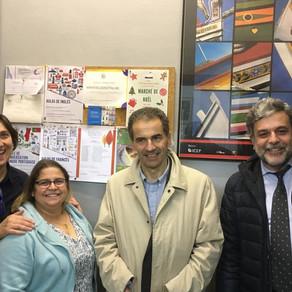 EMAÚS RECEBE VISITA DO MINISTRO DA CIÊNCIA, TECNOLOGIA E ENSINO SUPERIOR