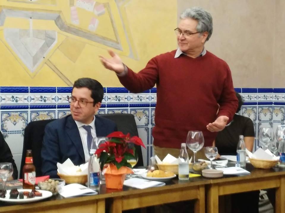 António Gomes, recém-eleito presidente da FAPB para o mandato 2018-2020.
