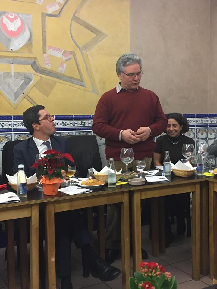 António Gomes agradece o apoio da SEDJIPDJ na pessoa do Dr. João Paulo Rebelo.