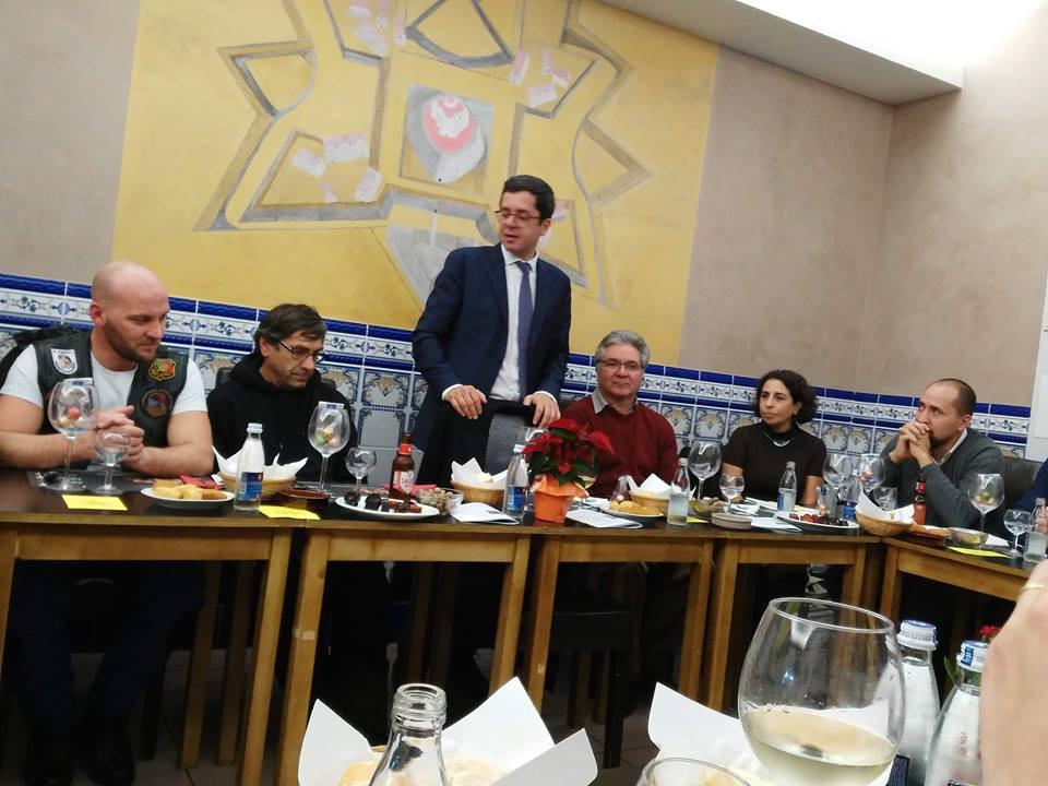 SEDJ  em Bruxelas com alguns membros da FAPB