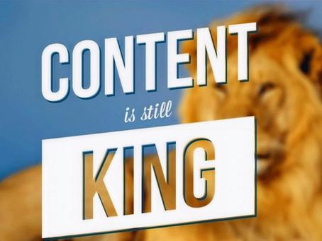 El Contenido es el Rey, sin duda