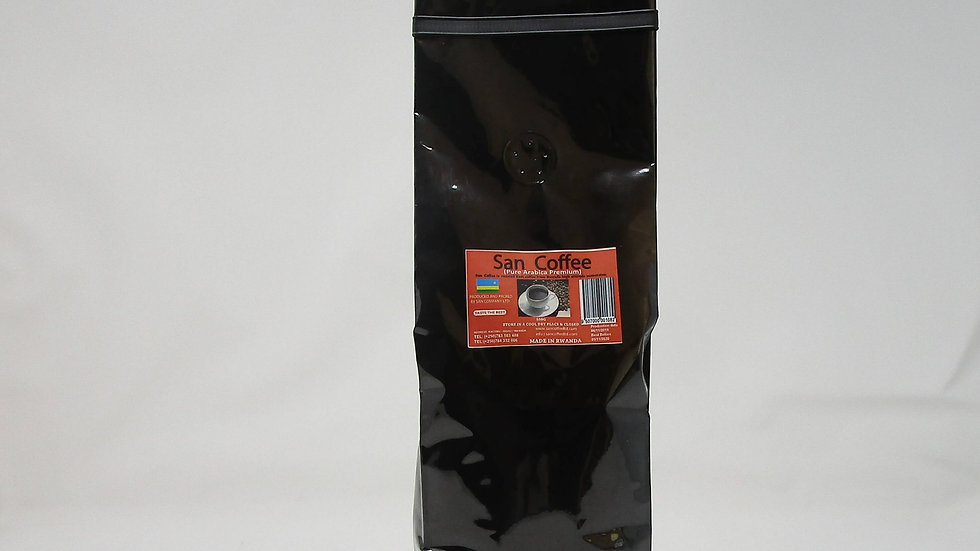 San Coffee Roasted coffee ground & beans