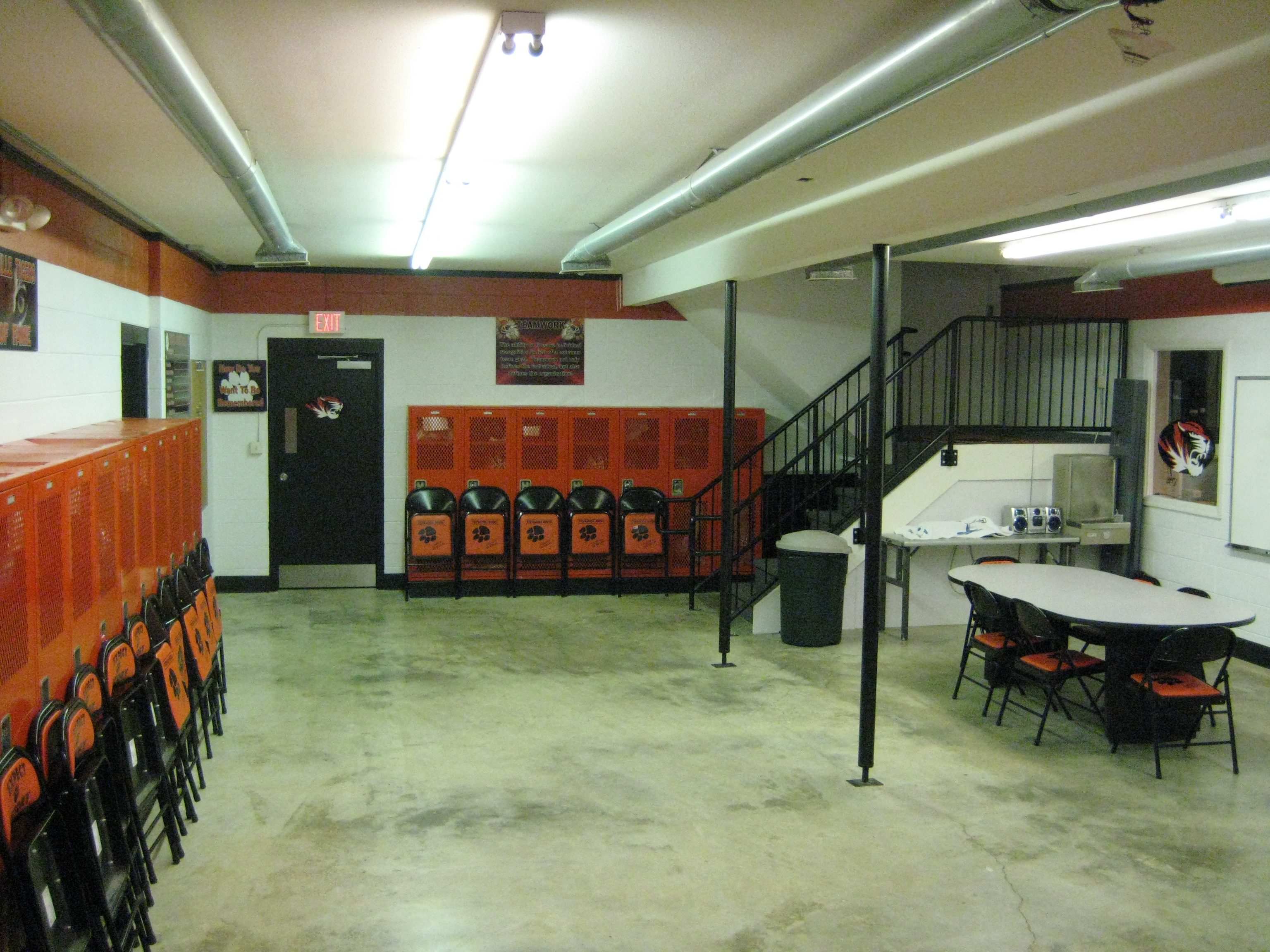Varsity Lockerroom #1