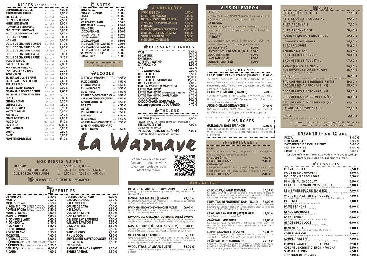 Set de table LA WARNAVE 2021 20-05-2021-