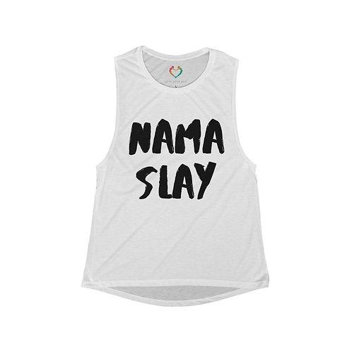 Nama Slay - Women's Flowy Scoop Muscle Tank