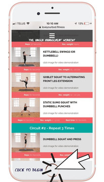 Anger Management Workout