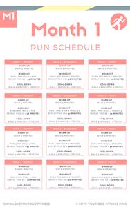 4 Week Learn to Run Program
