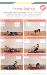 Foam Rolling Routine For Runners