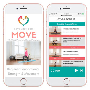 Move by Love Your Bod Fitness 12-Week Be