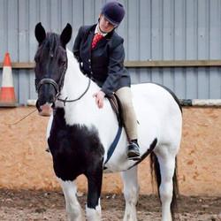 Heidi competing