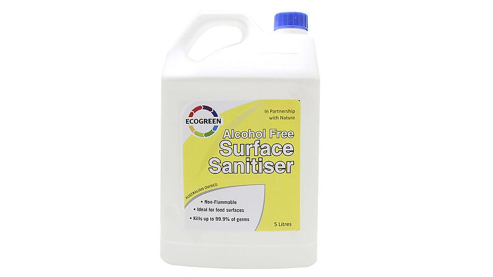 Alcohol-Free Surface Sanitiser 5 Lt