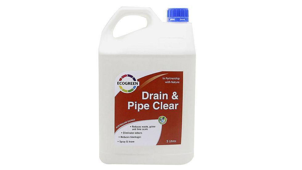Drain & Pipe Clear 5 Lt