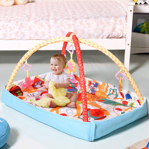 Musical Hanging Toys Play Mat