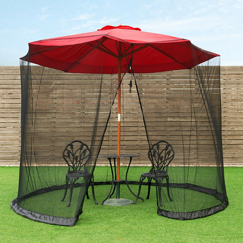 Outdoor Umbrella Table Screen Mosquito Bug Insect Net