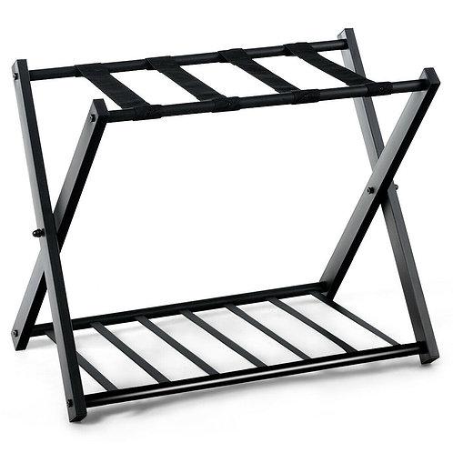 Folding Metal Luggage Rack (2-set)