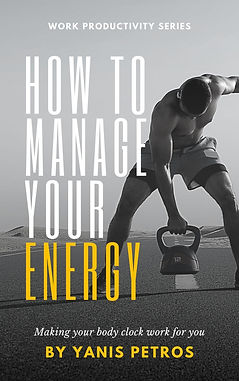 How to manage your energy (inspirational