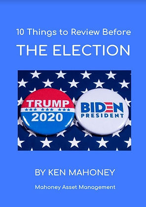 10 things to review before the election.