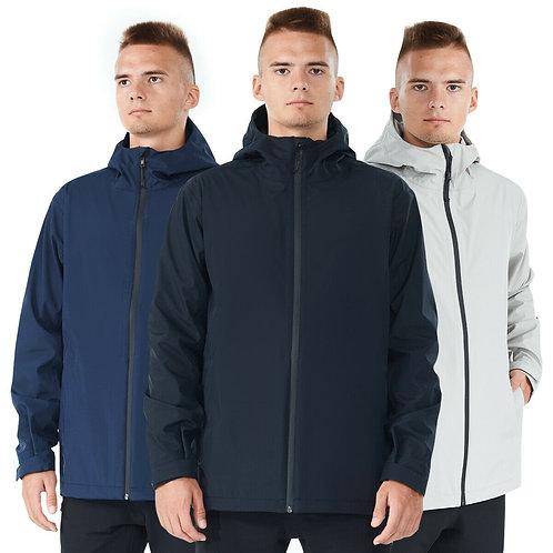 Men's Rainproof, Waterproof Windproof Hooded Raincoat