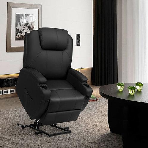 Power Recliner Heated Vibration Massage Chair