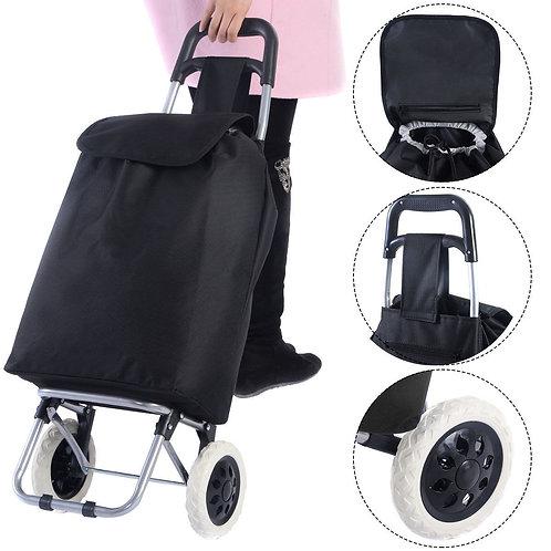 Light Weight Wheeled Shopping Trolley Cart