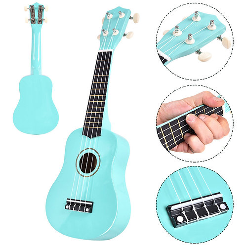 """4-String Acoustic Musical Instrument (""""21-inch)"""