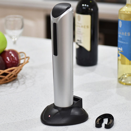Electric Wine Opener Corkscrew Opener with Foil Cutter LED Light