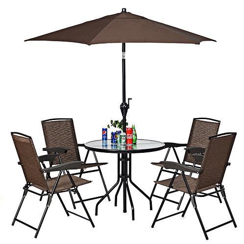 Outdoor Patio Easy Tilt Umbrella Sunshade Cover