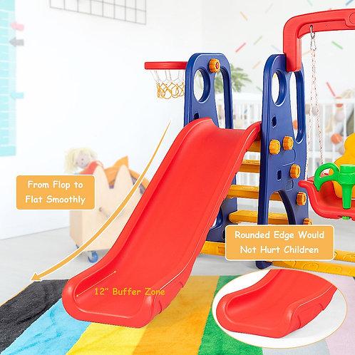 3 in 1 Junior Children Climber Slide Playset