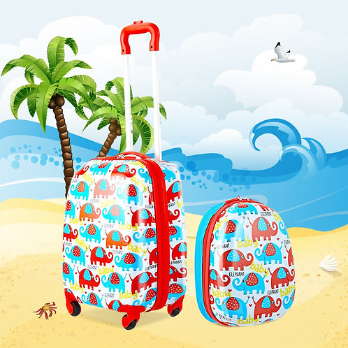"""12"""" and 16"""" Kids Luggage Set (2-Pieces)"""